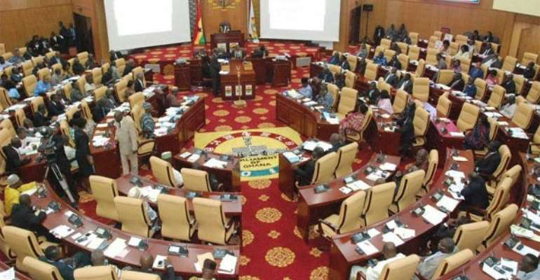 [Video] MPs pray in tongues against gays, lesbians in Ghana