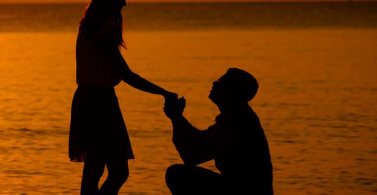 Afanyi Dadzie Writes: Your male friend proposed to you and so what?