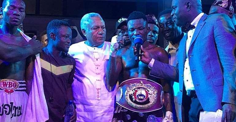 Wasiru Mohammed Wins WBO Global Super Bantamweight Title Via KO