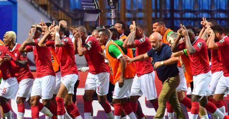 AFCON 2019: Madagascar Stun Nigeria To Top Group B