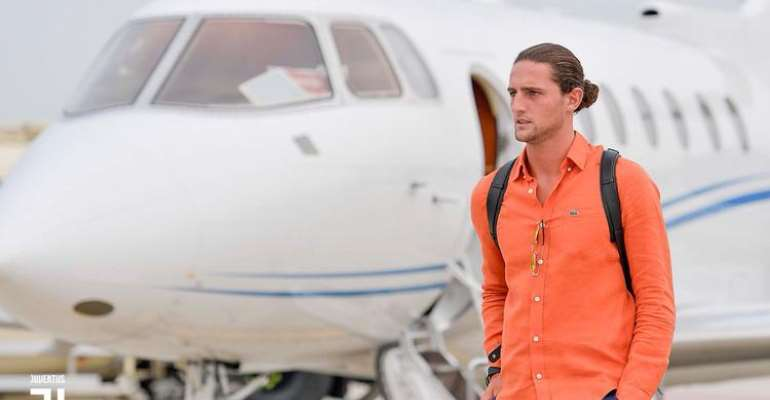 Rabiot Arrives In Turin Ahead Of Juventus Move