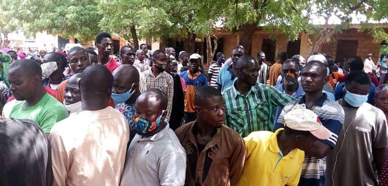 Voter Registration: Covid-19 Protocols Disregarded In Tamale [PHOTOS]