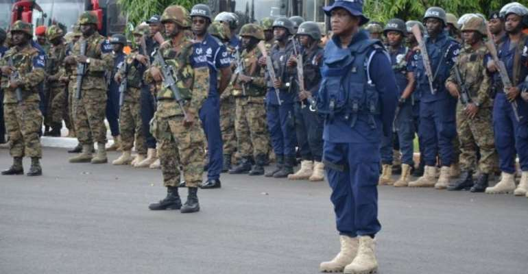 Kpando: 56 Security Personnel Deployed To Eight Registration Centres