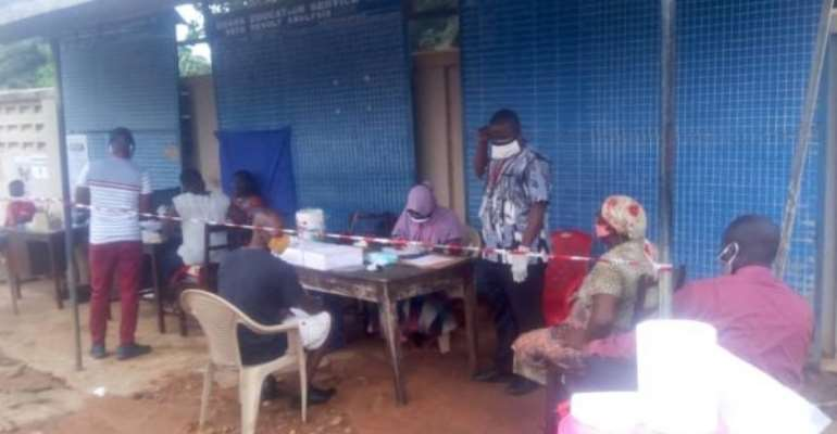 Voter Registration Exercise Smoothly In Ho