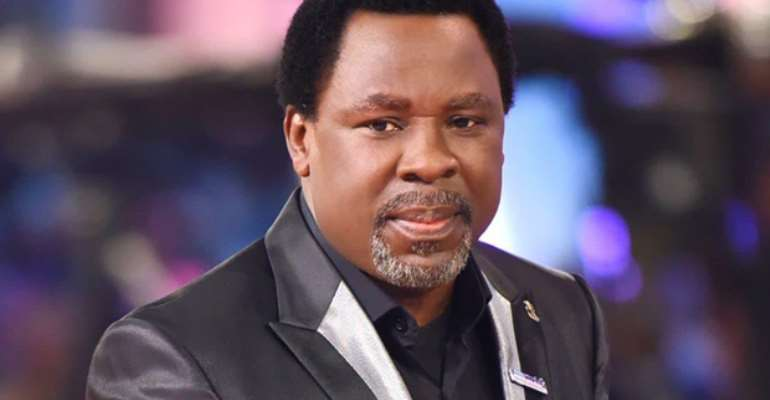 T.B. Joshua to be buried in Church premises on July 9