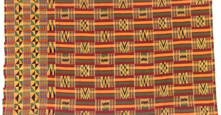 Ghana's Kente mounts stage in Antwerp