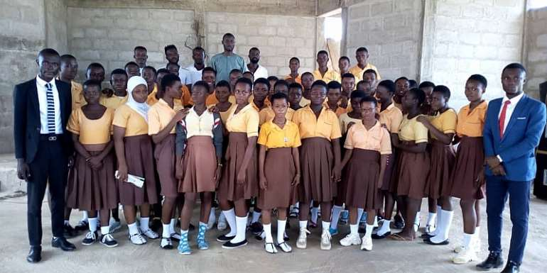 NUGS Interact With BECE Candidates Ahead Of Exams