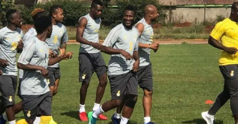 AFCON 2019: Ayew And Gyan Lead Ghana's Afcon Preparation Camp In UAE
