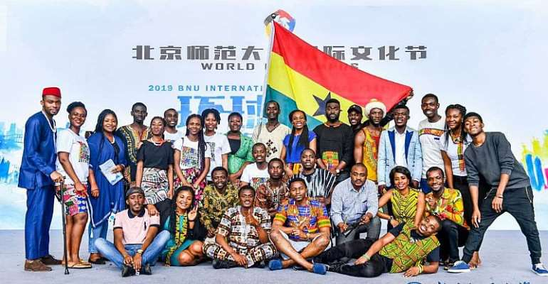 Ghana's Rich Culture Displayed At Beijing Normal University