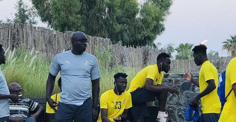 AFCON 2019: Black Stars Off To Hold First Training Session At Jaber Ali Training Facility In Dubai