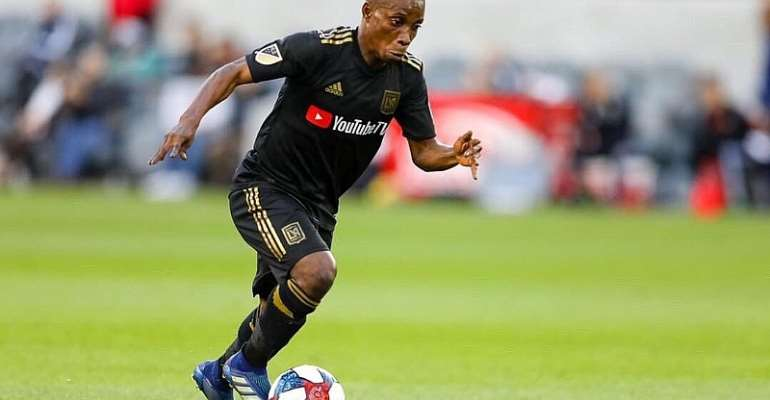 Latif Blessing Vows To Work Hard To Make LAFC A Great Side