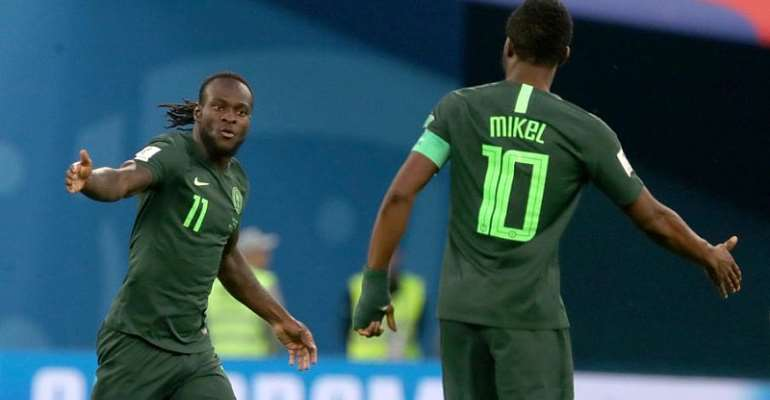 AFCON 2019: Clubless Mikel Begins NIgeria Comeback At Afcon Training Camp