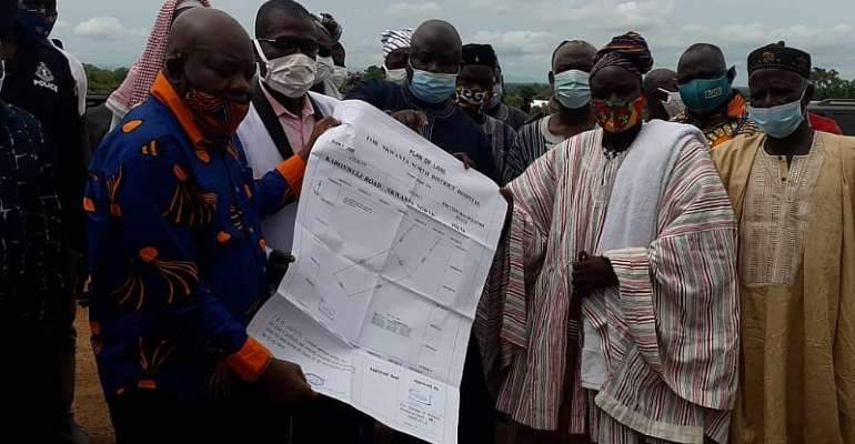 Oti Residents Laud Chiefs For Releasing Lands For Akufo-Addo Hospitals