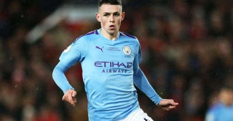Foden made his City debut in 2017