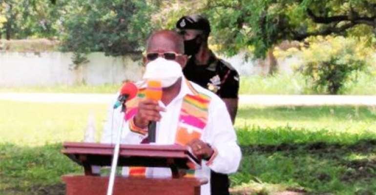 Ashanti Regional Minister Court Support For New Voters' Register