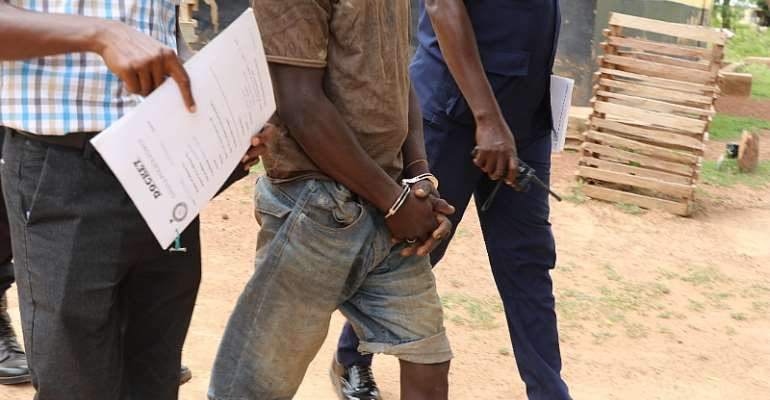N/R: Man Grabbed For Allegedly Raping 2year Old Girl