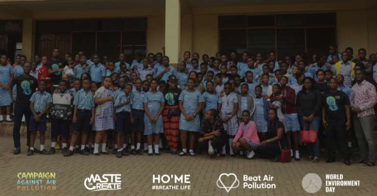 Waste Or Launch Home Campaigns Against Air Pollution As part Of The UN World Environmental Day