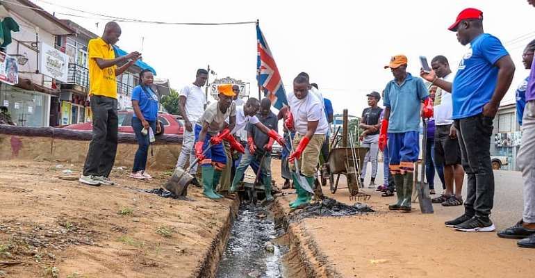 House Of Glory Ministries Join Sanitation Fight At Spintex