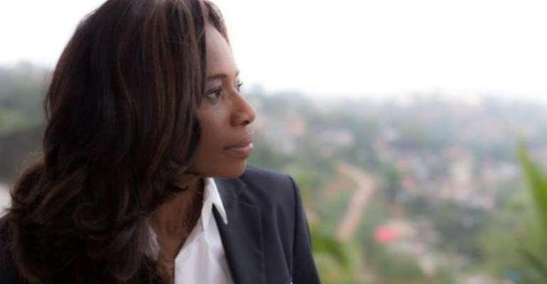 Sierra Leone FA (SLFA) president Isha Johansen