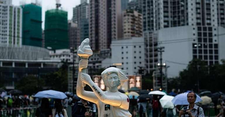 AFP/Philip Fong