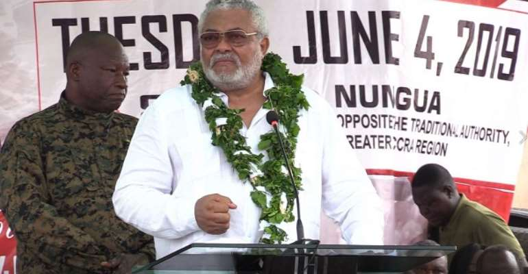 Politicians Don't Want Your Respect, They Want To Be Feared – Rawlings Booms At June 4