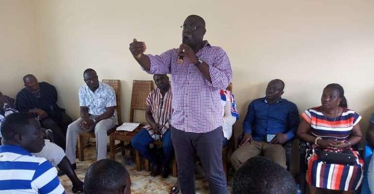 Sammy Awuku Visits Fisherfolks In Nzema East Municipality