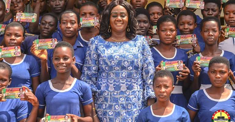 Prestea/Huni-Valley MP Gives 4,464 Mathematical Sets To BECE Candidate