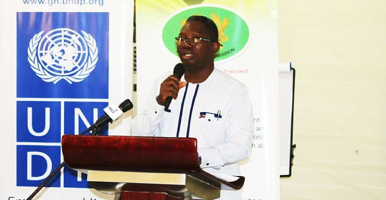 Mr. Kyeremeh Atuahene, the acting Director General of Ghana AIDS Commission