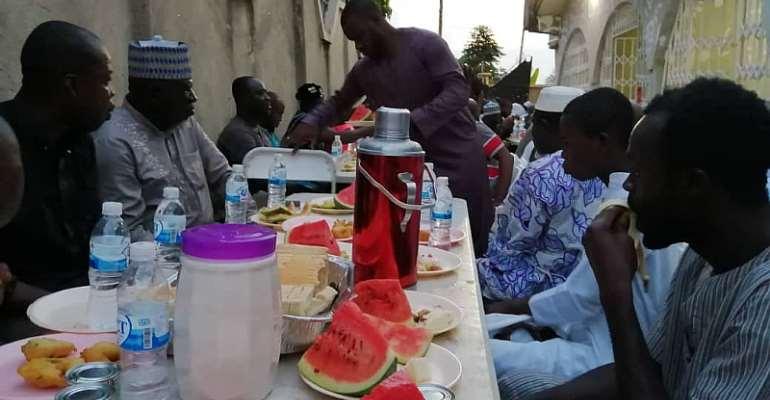 Ashanti Regional NPP Nasara Coordinator Holds Iftar For Muslims