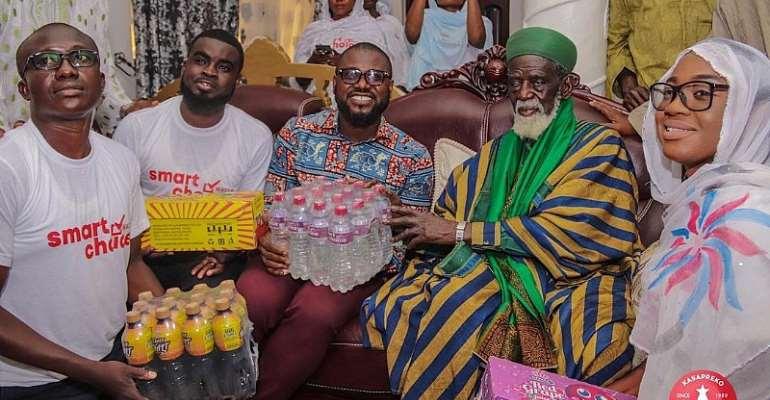 Kasapreko Donates To Chief Imam To Mark Eid-Ui-Fitr