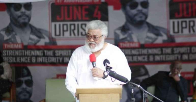 Election 2020: Use Consultative Approach — Rawlings Urges EC