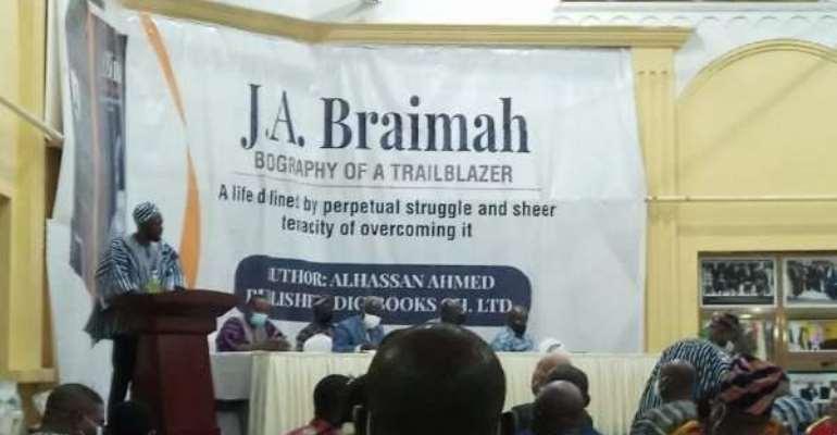 Re: NPP Bigwigs Eulogise J. A. Braimah