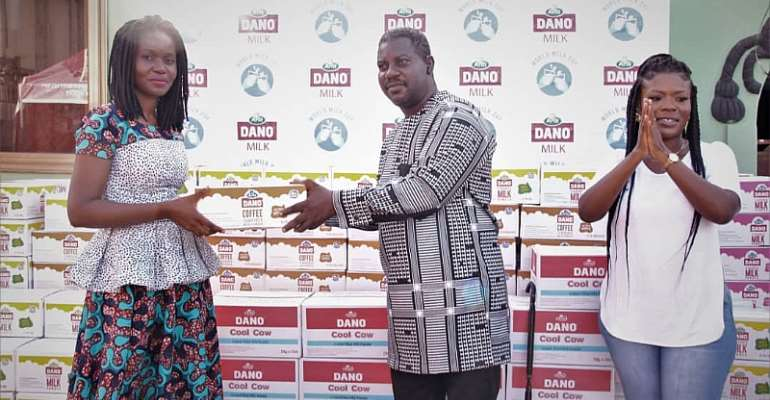 World Milk Day: ARLA foods donate truckload of Dano products to New Life Orphanage