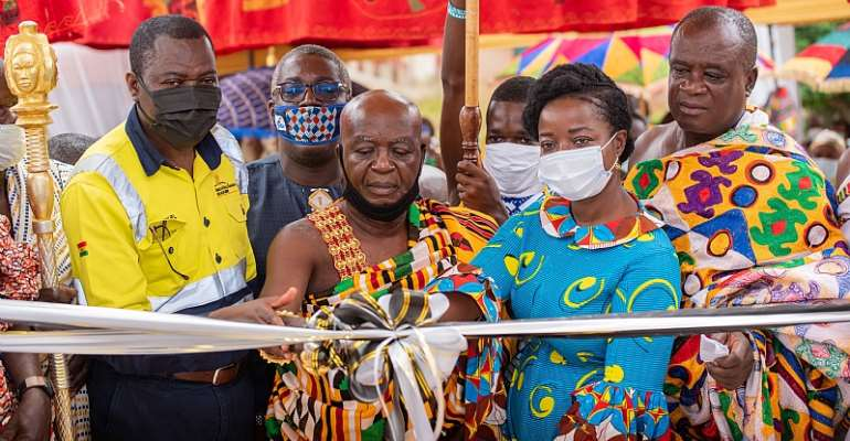 Obuasi Government Hospital Gets A New Maternity Block