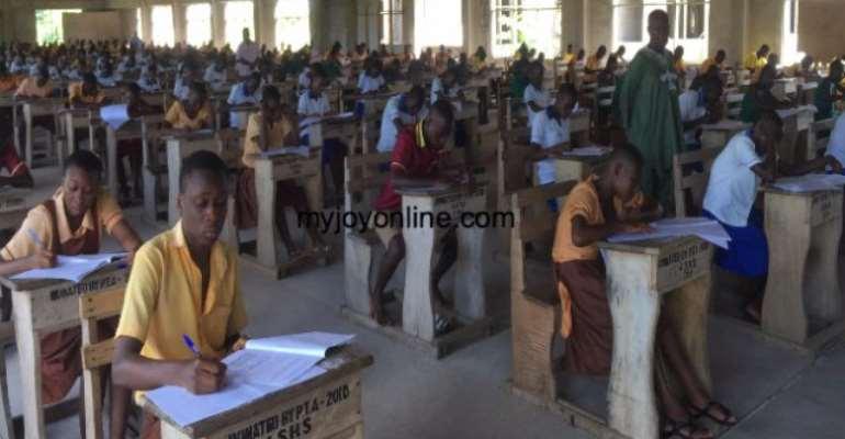 Nkonya, Alavanyo candidates write BECE amidst heavy security
