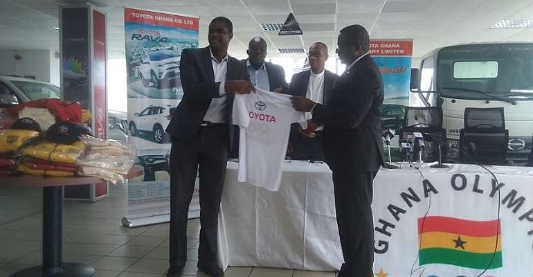 Toyota Ghana Supports Ghana Olympic Committee