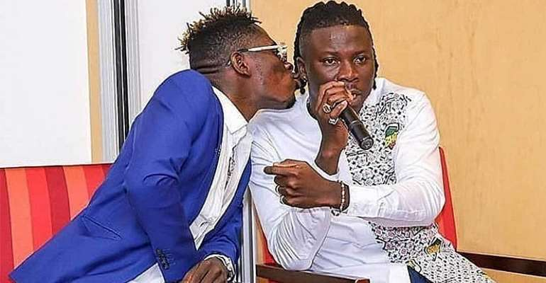 Shatta Wale Defends His 'Kiss Of Peace' With An Incorrect Bible Verse