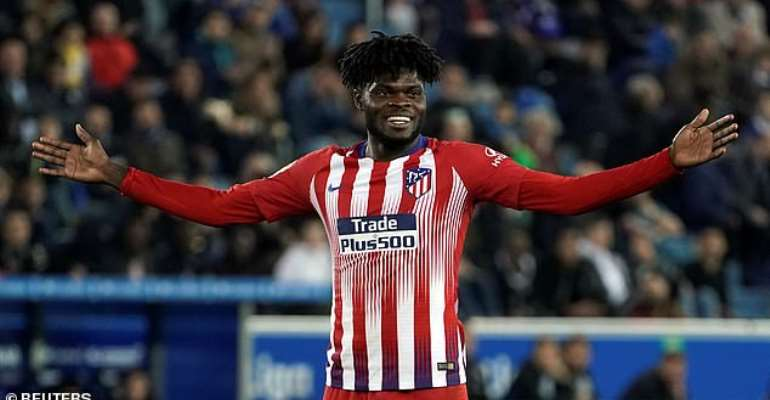 Thomas Partey's Father Wants Atletico Madrid Star To Move To England