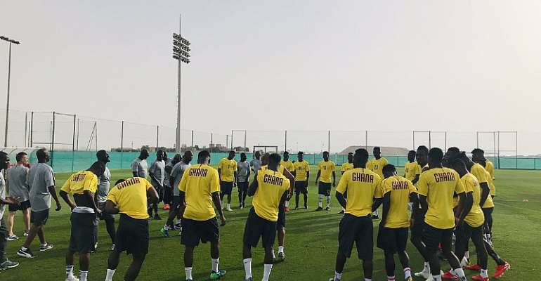 AFCON 2019: Black Stars Warp Up Day 2 Of Training Tour