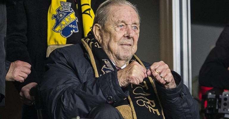 Former Uefa President Johansson Dies At 89