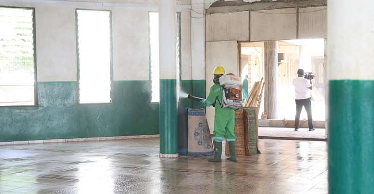 Zoomlion Begins National Disinfection ExerciseOf Mosques