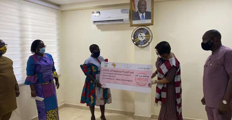 Mondelez International, ABANTU Support COVID-19 Fight With Ghc216,000