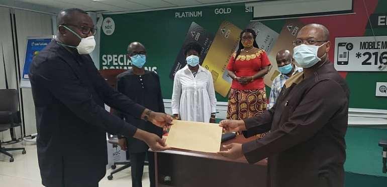 NDC Diaspora Donates 42k To Mother Party