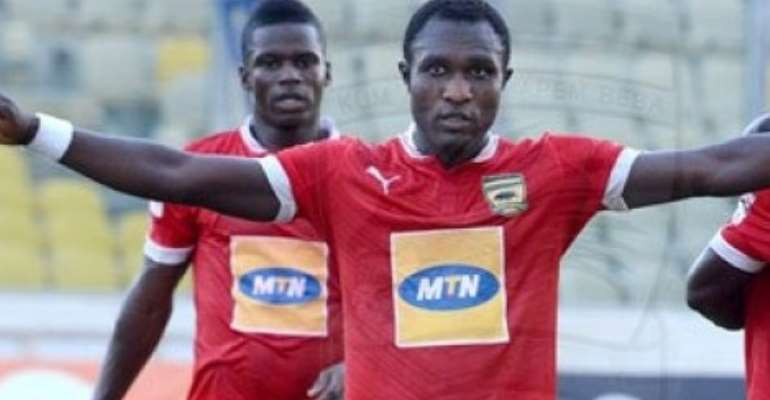 Asante Kotoko striker Obed Owusu urges supporters not despair after Olympics draw