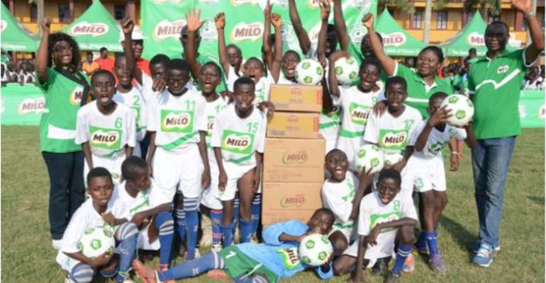 Juvenile football: 2 schools book places to represent Western, Central in Milo U-13 tourney