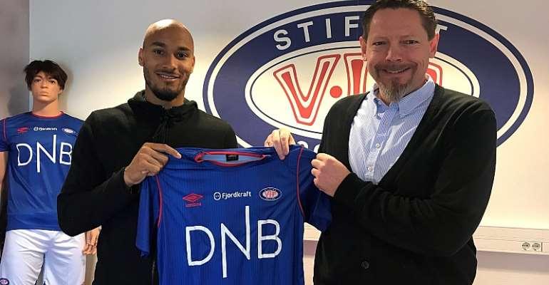 Ghana goalkeeper Adam Kwarasey wants to win titles with Norwegian side Vålerenga