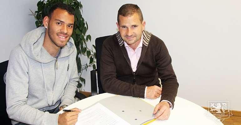 EXCLUSIVE: Eintracht Braunschweig snap German-born Ghanaian defender Steffen Nkansah