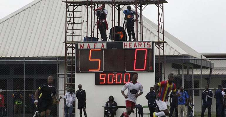 The Blind Pass: A weekly feature on the Ghana Premier League - Hearts of Oak in Quintuple Quackle
