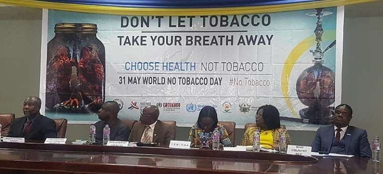 FDA Reveals Tobacco Smoking Kills 75 Men In Ghana Every Week
