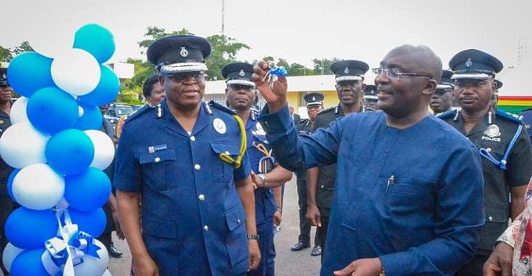 Police Get 109 Multipurpose Vehicles